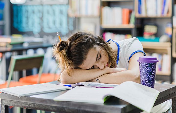 Ansiedad con los exámenes finales - Orientablog