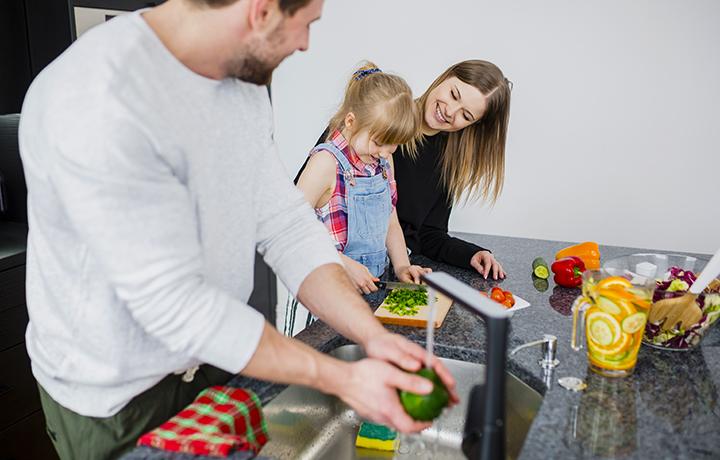Consejos para convivencia: que niños colaboren en casa
