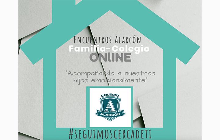 Encuentros Alarcón Familia-Colegio en versión online