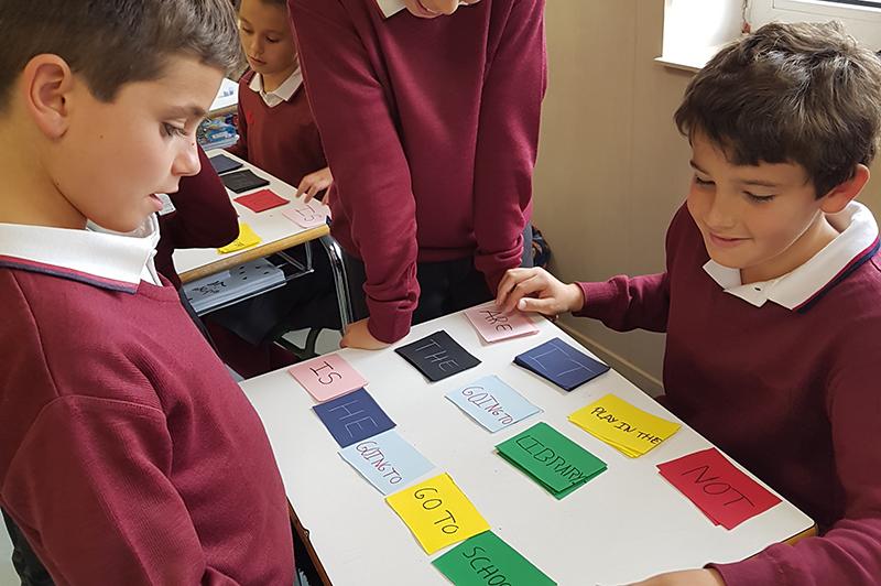 Educación primaria - Formación en idiomas