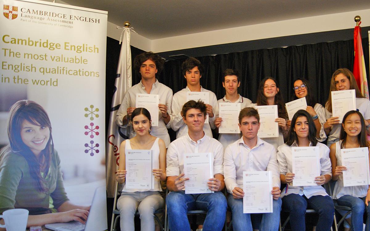 Colegio Alarcón: Language itinerary en inglés, alemán y chino