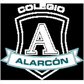 Colegio Alarcón - Logotipo blanco