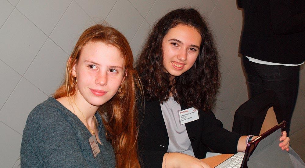 Alumnos del Colegio Alarcón en el Modelo de las Naciones Unidas