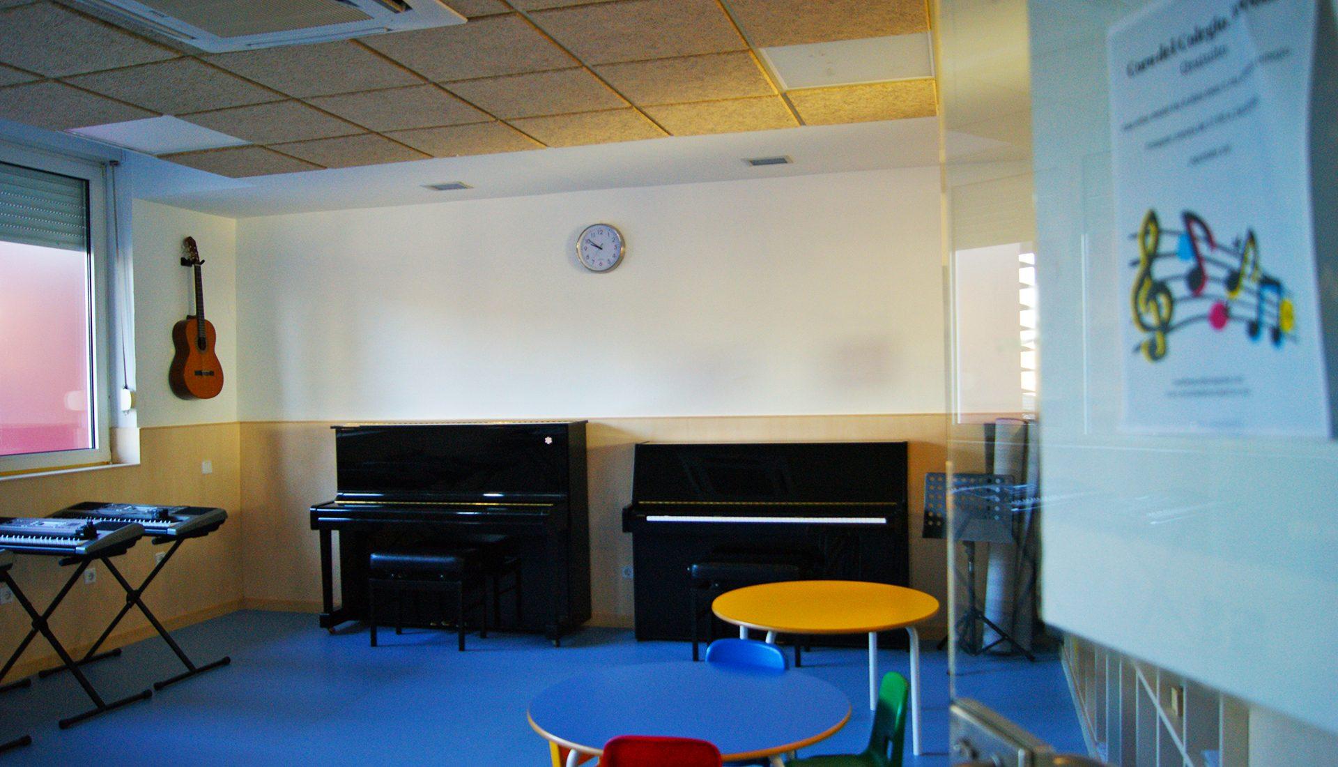Instalaciones - Aula de música
