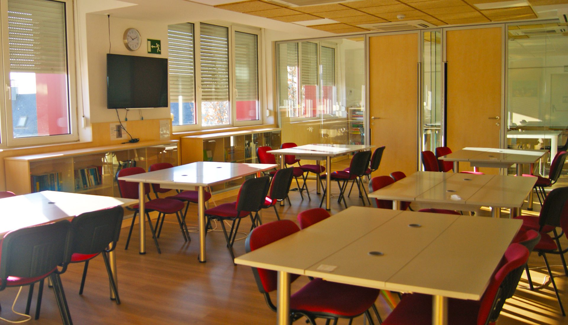 Instalaciones - Learning spaces