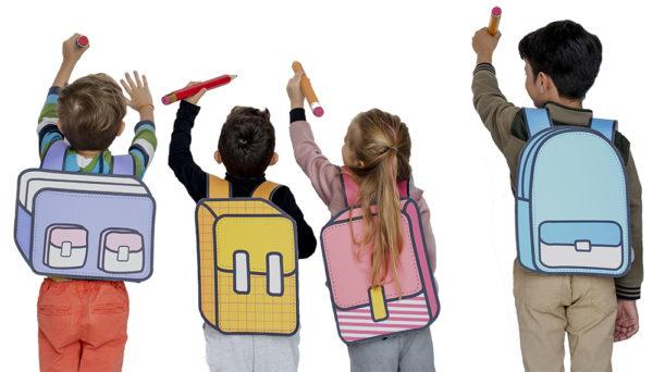 Niños pintando en el Summer Camp del Colegio Alarcón
