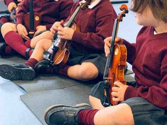 Escuela infantil - Enseñanza musical