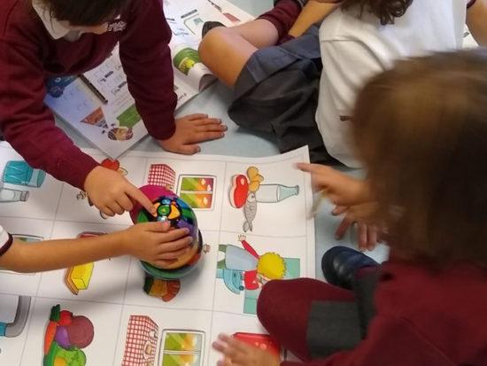Educación primaria: robótica - Colegio Alarcón