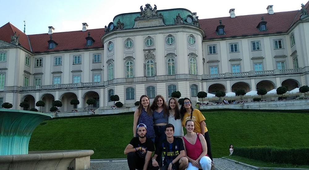 Visita a Polonia dentro del programa Alarcón Social