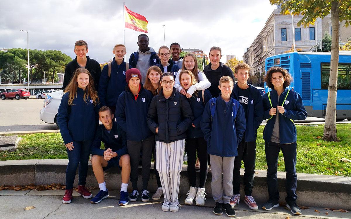 Colegio Alarcón: Language itinerary intercambio