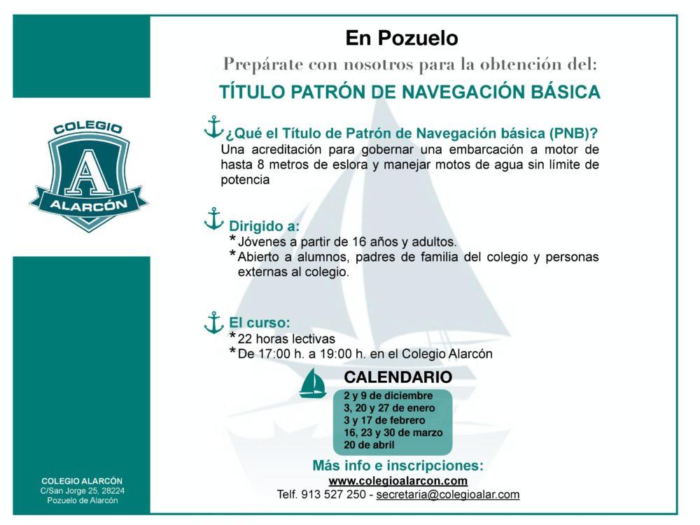 Título de Patrón Náutico - PNB