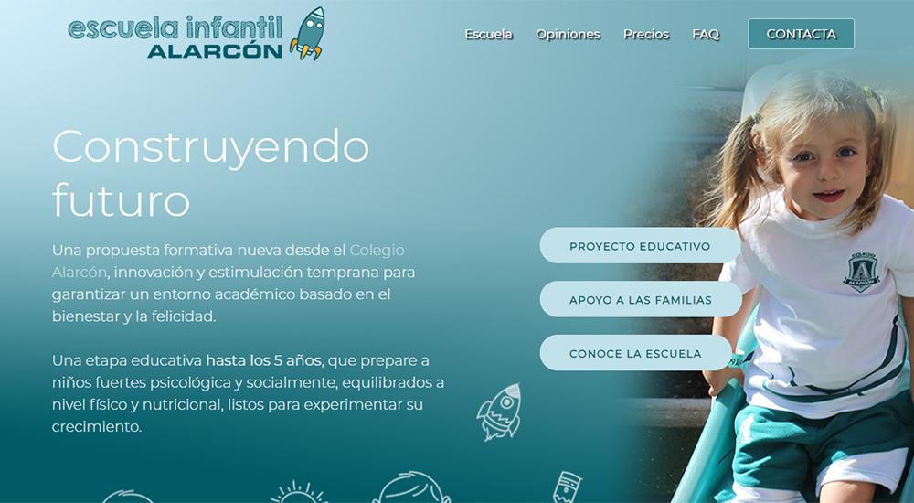Nueva web de la Escuela Infantil