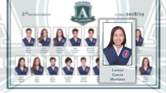 Lorena Jianxing García Martínez, una de las 100 mejores notas de la EvAU