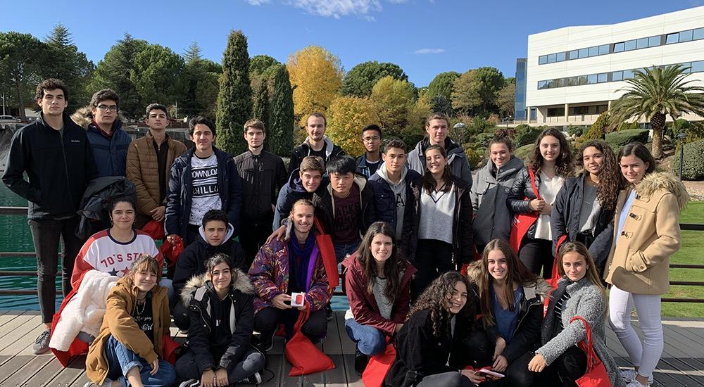 Programa Alarcón Vocación - Visita a la Universidad Europea de Madrid