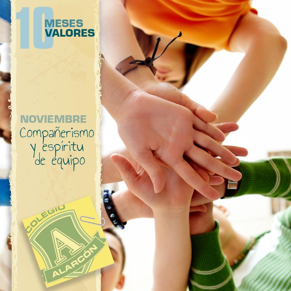 Programa 10 meses, 10 valores - Noviembre, compañerismo y espíritu de equipo