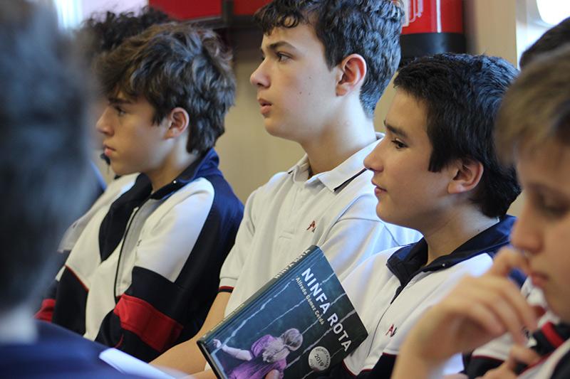 Foros literarios Alarcón con Alberto Gómez-Cerdá