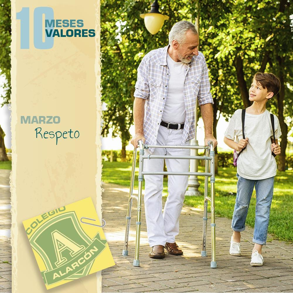 El Respeto en los 10 valores de una persona corresponde al mes de de Marzo