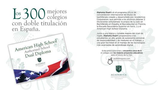 Los 300 mejores colegios de Academica Diploma Dual