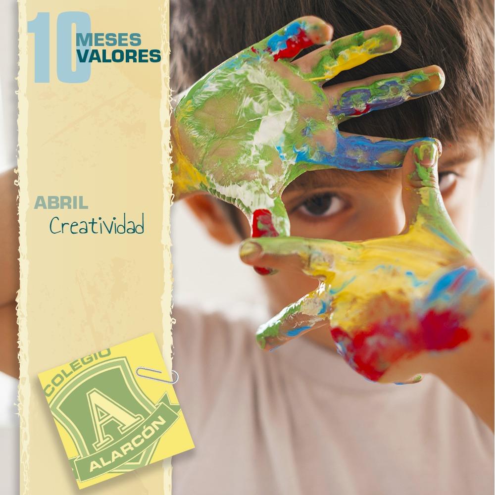 La Creatividad en los 10 valores de una persona corresponde al mes de de Abril