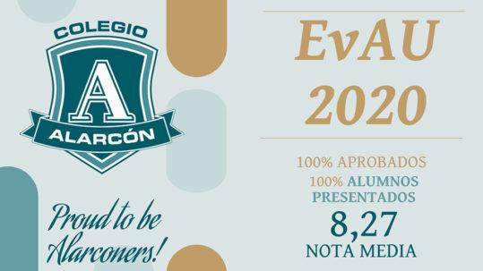 Excelentes resultados EvAU 2020